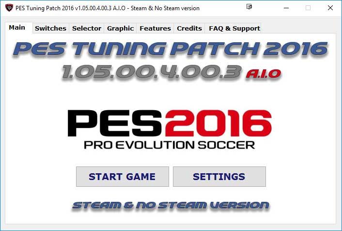 دانلود پچ زیبای Pes Tuning Patch 2016 v1.05.00.4.00.3 AIO (لینک مستقیم)