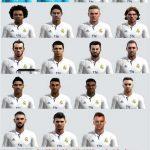 فیس پک 2017 تیم Real Madrid برای pes 2013
