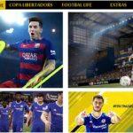 منوی FIFA 2017 برای pes 2013