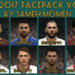 فیس پک جدید ورژن 3 برای pes 2017