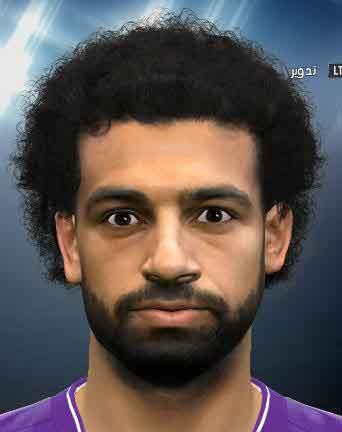 فیس جدید Mohamed Salah برای pes 2016 و pes 2017