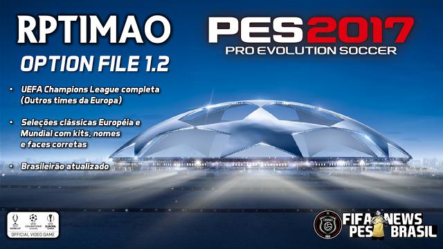 پچ  Rptimao v1.2 برای PES 2017 (مخصوص PS4)