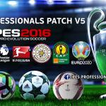 پچ PES Professionals V5 AIO برای PES 2016 (لینک مستقیم اضافه شد)