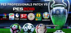 آپشن فایل جدید PES Professional 2016 v5