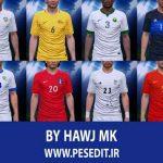 کیت پک تیم های آسیایی برای pes 2017 و pes 2016