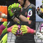 دستکش های HD برای pes 2017