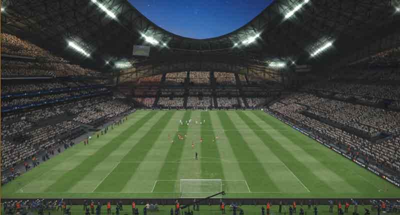 مینی پک استادیوم برای pes 2017