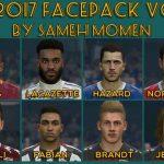 فیس پک جدید v5 برای PES 2017