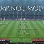 مود گرافیکی ورزشگاه نیوکمپ ورژن 2 برای pes 2017