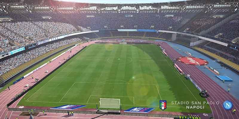 استادیوم ناپولی برای PES 2017