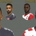 فیس های Bellarabi and Martina برای pes 16 و pes 2017