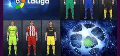 کیت پک جدید Atletico Madrid برای pes 2017