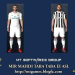 کیت پک جدید Juventus – Real Madrid برای pes 2017