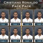 فیس پک Cristiano Ronaldo برای PES 2017