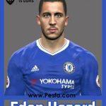 فیس جدید Hazard برای PES 2017