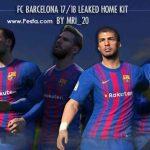 کیت خانگی 2018 Barcelona برای PES 2017