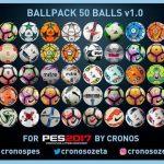 پک توپ 50 تایی برای PES 2017