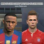 مینی فیس پک Neymar & Joshua Kimmich برای PES 2017