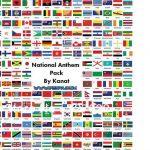 پک سرود ملی کشورها v2 برای PES 2017 (+ایران)
