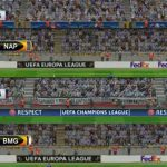 اسکوربرد و لوگو لیگ اروپا برای pes 2017