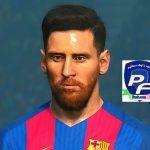 فیس جدید Messi با ریش 3D برای PES 2017