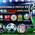 آپشن فایل جدید و فوق العاده برای پچ PES Professionals Patch 2016 V5 AIO