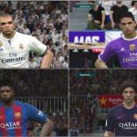 کیت پک Real Madrid و Barcelona برای pes 2017