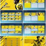 منو FIFA 17 برای PES 2017