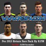 فیس پک Return برای PES 2013