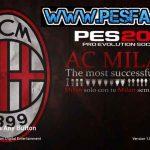 منو گرافیکی A.C. Milan برای PES 2017