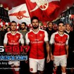 منو گرافیکی Arsenal برای PES 2017