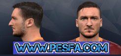 فیس جدید Francesco Totti برای PES 2017