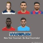 فیس پک Happy New Year برای PES 2017