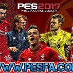 پک استارت اسکرین لیورپول برای PES 2017