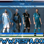 کیت پک Real Madrid 2017/2018 HD V2 برای PES 2017