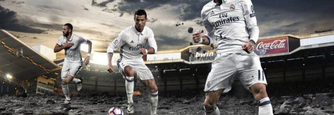 پک استارت اسکرین Real Madrid برای PES 2017