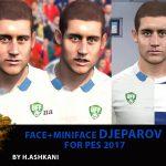 فیس+مینی فیس جباروف برای PES 2017