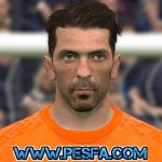 فیس جدید Gianluigi Buffon برای PES 2017
