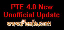 آپدیت غیر رسمی PTE 4.0 برای PES 2017
