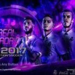 منو گرافیکی Real Madrid برای PES 2017