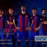 منو گرافیکی Barcelona برای PES 2017
