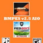 پچ حجیم BMPES v2.5 AIO برای PES 2017 (دارای 80 استادیوم)