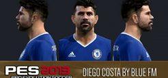 فیس جدید Diego Costa برای pes 2013