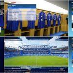 منو گرافیکی Chelsea برای PES 2017