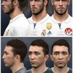 فیس Fernando Muslera و Gareth Bale  برای PES 2017