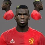 فیس جدید Paul Labile Pogba برای PES 2017