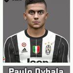 فیس جدید Paulo Dybala برای PES 2017
