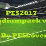 استادیوم پک PESLover v1.2 برای PES 2017