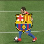ریپلی لوگو تیم بارسلونا برای PES 2017