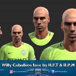 فیس جدید Willy Caballero برای PES 2013